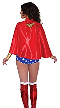 Rubie s Costume Co Women s DC Superheroes Cape Wonder Woman