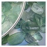 Changskj Cristal Natural Rugoso Grava de fluorita Verde 100g,decoración del hogar,Piedra de Acuario,decoración del hogar de Cristal de Rosa (Farbe : Just Head i, Größe : 100g)