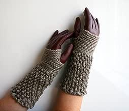 CROCHET PATTERNS, girl and women fingerless glove pattern, wrist warmer crochet pattern (124)
