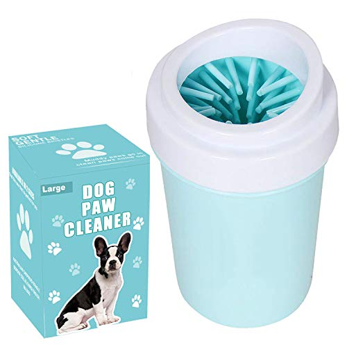 Dog Paw Cleaner for Dogs Large/Petite Paw Washer Easy to Use & Clean Portable Dog Paw Cleaner Cup...