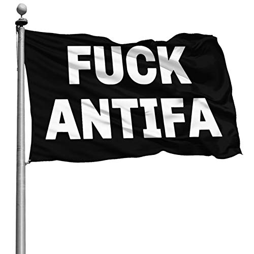 Fuck Antifa Flag 4x6 Feet Strong, Durable, Not Easy to Fade, Easy to Disassemble, Brass Grommet, Stylish Logo