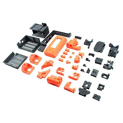 Docooler PETG-Material Bedruckte Teile DIY 3D-Druckerzubehör mit Abstreifern Kompatibel mit Prusa i3 MK3 / 3S 3D-Druckerkit