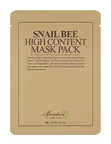 BENTON Snail Bee Mask Pack (Pack of 10)