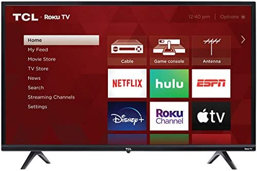 TCL 32 3 Series 720p Roku Smart TV 32S335 product image