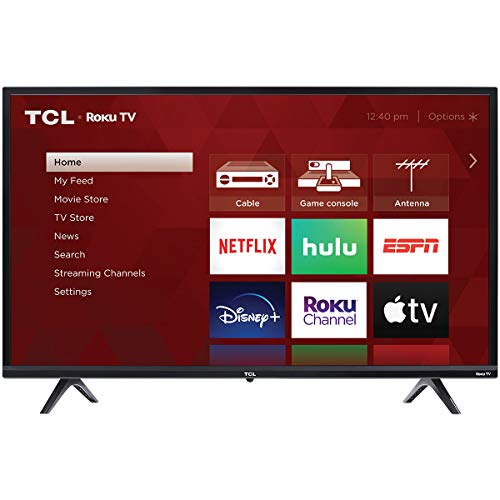 TCL 32-inch 3-Series 720p Roku Smart TV - 32S335, 2021 Model