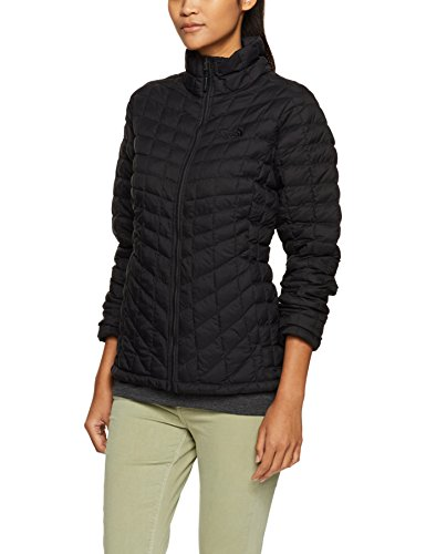 The North Face Women's Thermoball Full Zip Jacket TNF Black Matte - M