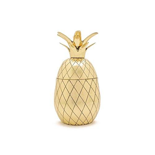 W&P Pineapple Tumbler, 12 oz, Gold