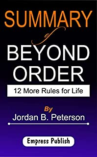 scheda summary of beyond order: 12 more rules for life by jordan b. peterson (english edition)