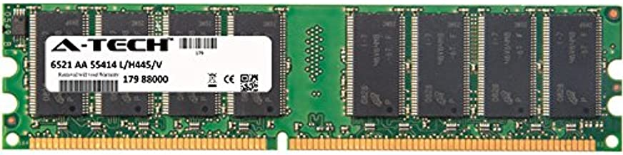 1GB Stick for Dell Dell Dimension 1100 (DE051) 2400 3000 4550 (533Mhz Bus) 4590T 4600 4600C 4600i 8300 XPS. DIMM DDR Non-ECC PC2700 333MHz RAM Memory. Genuine A-Tech Brand.