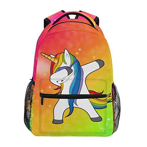 Galaxy Unicorn Backpack Bookbag for Boys Girls Elementary School 2021985