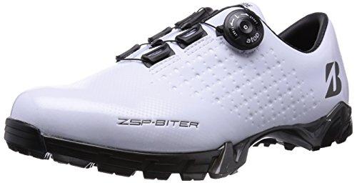 [ブリヂストン] ゼロ・スパイク バイター スパイクレスシューズ SHG450 WH(白) 26.5cm
