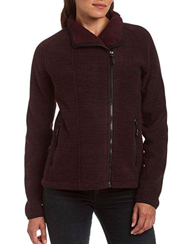 Champion Damen Sherpa Lined Fleece Jacket Fleecejacke, schwarz, Groß