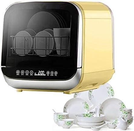XWSM Lavavajillas Portátil De Encimera, Pequeño Lavaplatos Portátil Independiente, Mini Máquina Automática De Lavavajillas Compacta De Sobremesa, Control De Temporizador Digital