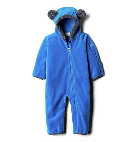 Columbia Tiny Bear II Bunting Chaqueta y Forro Polar, Unisex bebé, Azul (Super Blue), 18/24