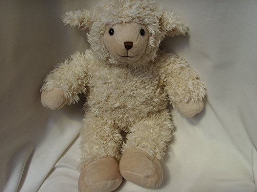 """Build a Bear Workshop Sheep Lamb Plush Toy Large 18"""" Easter Basket Collectible"""