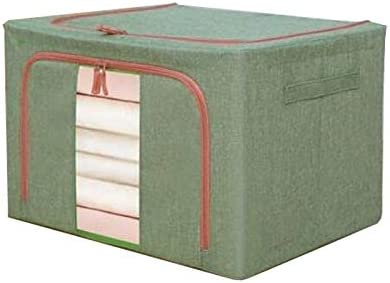 Niubiyazwl Storage Cubes Clothes Organizer Fab and Outlet mart ☆ Free Shipping Linen Cotton