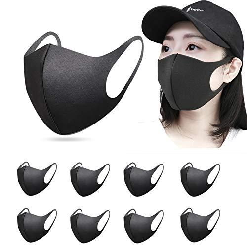 InnooCare 9 Stück Staub Fashion Unisex Face, Wiederverwendbare und waschbare