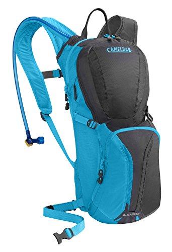 CamelBak Lobo Hydration Pack, Charcoal/Atomic Blue