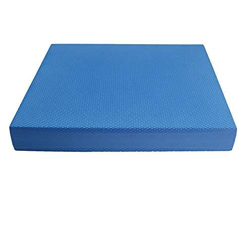 バランスパッド マット バランストレーニング ヨガ補助 ピラティス ダイエット 室内運動 高齢者転倒防止 SGS環境保護認証 (ブルー(40x35x5cm))