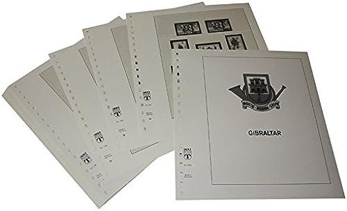 LINDNER Das Original Gibraltar - Vordruckalbum Jahrgang 1972-1984
