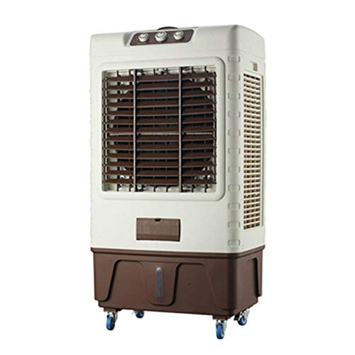 Industriekühler_Mobil Industriekühler Wasservorhang Haushaltskühler Großes Luftvolumen Gewerbekühler, Luftreiniger, Luftbefeuchter und Heizung@9000 Windkühlgebläse