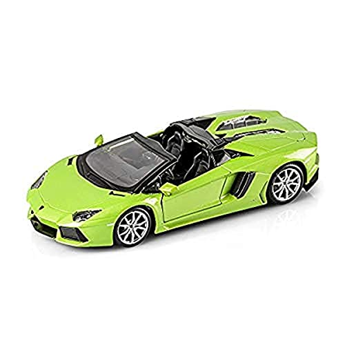 Maisto Assembly Line Lamborghini Aventador Roadster Die Cast Model Kit (1:24 Scale)
