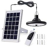 Kyson Lámpara solar de techo con 56 luces LED para interior y exterior con...