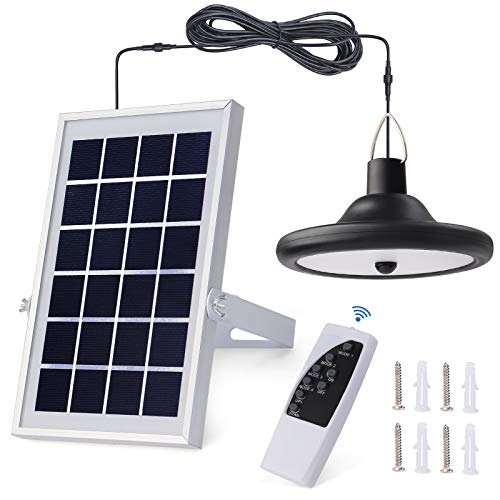 Kyson Solar Ceiling Light 56 Led Shed Light Solar Lights...