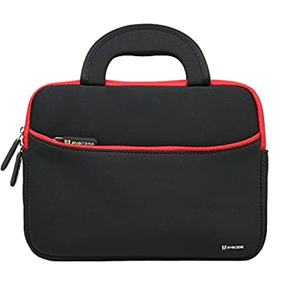 8.9 - 10.1 inch Tablet Sleeve, Evecase Tablet PC Neoprene Zipper Carrying Sleeve Case Bag with Accessory Pocket