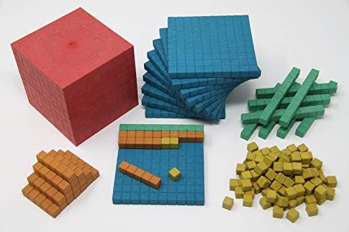 Wissner aktiv lernen WissnerR39578.000 Dienes Grundset 141 Teile farbig, Mehrfarbig
