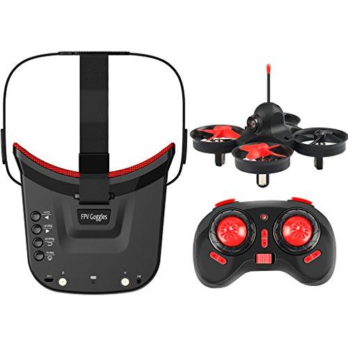 Morza 5.8GHz 40CH Receptor Cámara giroscopio Remoto Modo de Control de la aeronave sin Cabeza 3.0 Pulgadas de LCD de 480x320 Mini FPV Gafas