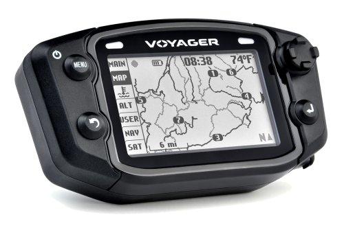 Trail Tech 912-101 Voyager Stealth Black Moto-GPS Computer
