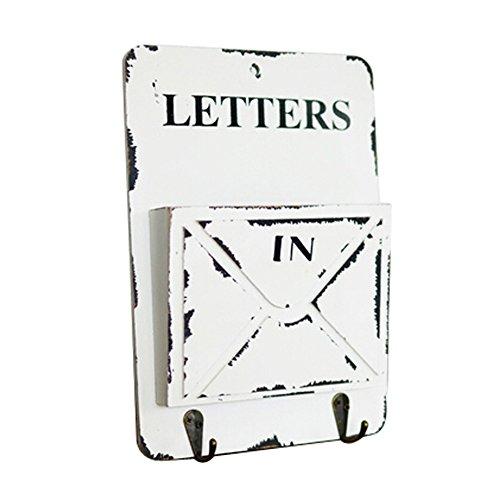 Creative Décoration Boîtes de rangement Organisateurs Porte-clefs Blanche Style