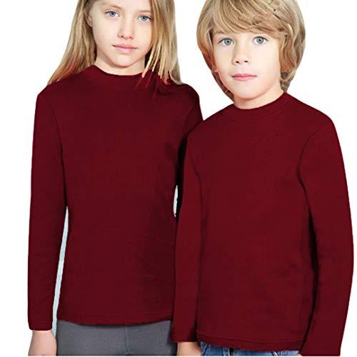 YSABEL MORA - Camiseta SEMICISNE Termal Niñas Color: Granate Talla: 8
