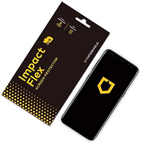 RhinoShield Protection écran Compatible avec Samsung [Galaxy S8+] | Anti-Chocs Flex - Résistance maximale aux Chocs
