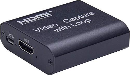 persiverney-AT Tarjeta De Captura Tarjeta De Captura De Video Portátil Liviana 4K HD HDMI A USB 30 Grabadora De Tarjeta De Captura Caja Grabadora Dispositivo De Unidad Libre para Transmisión Reliable