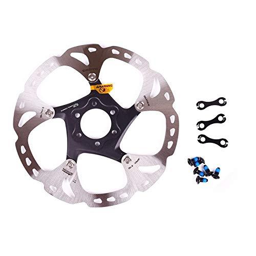 HGYIN-Disc brake XT-Saint RT-86 6/7 Pulgadas 160 mm 180 mm 203 mm Freno de Disco 6 Pernos Rotor Accesorio Piezas de Bicicleta Sistema Ice-Tech RT 86 (Color : 203mm)