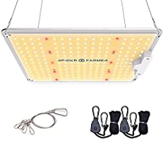Spider Farmer SF-1000 LED Grow Light with Samsung Chips LM301B & Dimmable MeanWell Driver Sunlike Full Spectrum Plants...