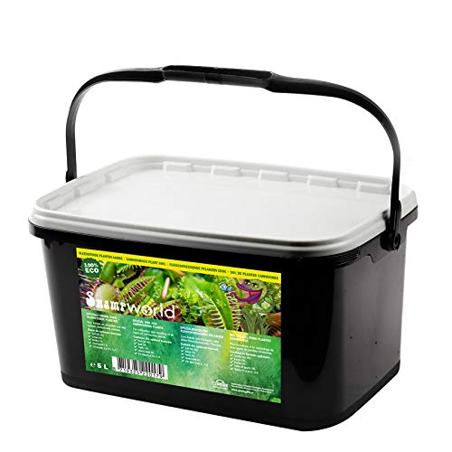 Swampworld Fleischfressende Pflanzen Erde - Eimer 5 Liter
