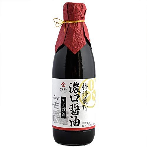 Soy sauce (Japanese Handmade Shoyu) Koikuchi No additives No chemical seasonings Non-GMO Natural brewing 360ml(12.2 fl oz)【Yamasan】