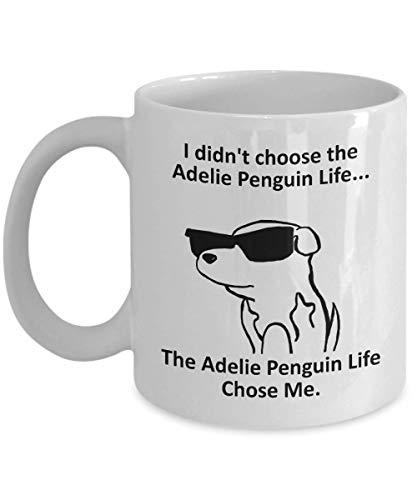 Tazza Magica Tazza da caffè Adelie Penguin Tazza con Frase e Disegno Divertente Migliore Tazza In Ceramica Idee Regali Originali