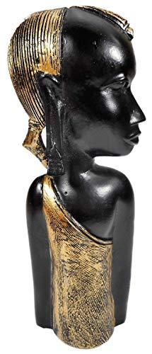 N / A Afrikanerin Massai Frau 22 x 10 cm Afrika Kriegerin Figur Deko 25440 B