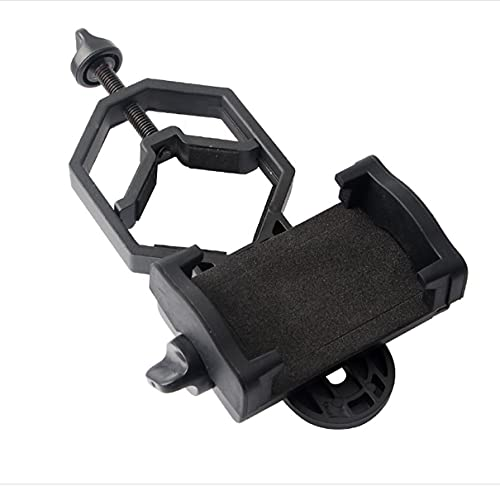 Kaczmarek Universal Cell Phone Adjustable Adapter Mount Microscope Spotting Scope Telescope Clip Bracket Mobile Phone Holder