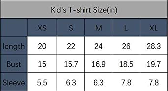 Maglietta per Bambini Manica Corta Kids Casual Tee Te-en T-itans Go 3D Print Graphics Fashion T-Shirt Hip Hop Print for Boys Girls