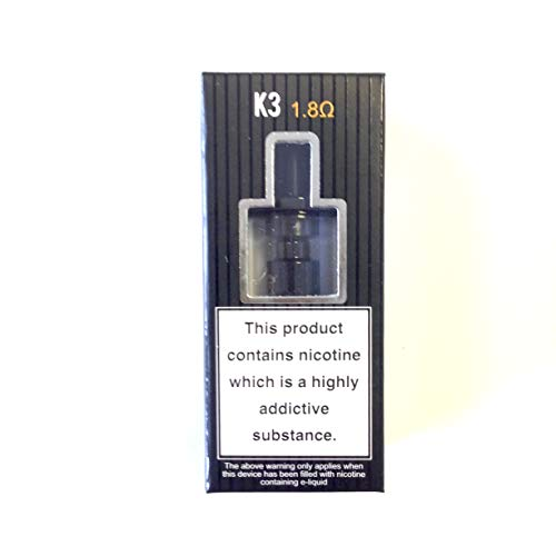 Aspire K3 Tank Black with Nautilus coils for Aspire K3 Kit and Other mods...