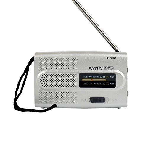 Lorsoul Elder Mini BC-R28 Taschen Tragbares Radio AM FM Wireless Receiver Set Music Player