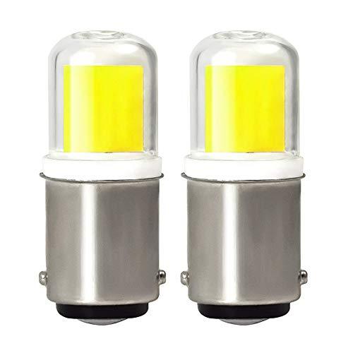 MENGS 2-er Pack B15D LED Lampe 4W LED Leuchtmittel Mit Keramik + Glas 6000K Kaltweiß Ersetzt 30W Halogenlampen AC 220-240V