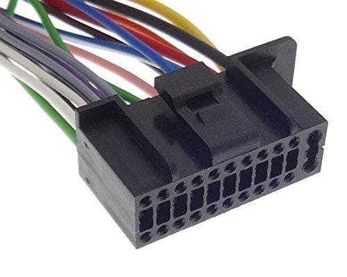 KENWOOD (5) cable adaptador de Radio para coche con cable de conexión ISO connettore
