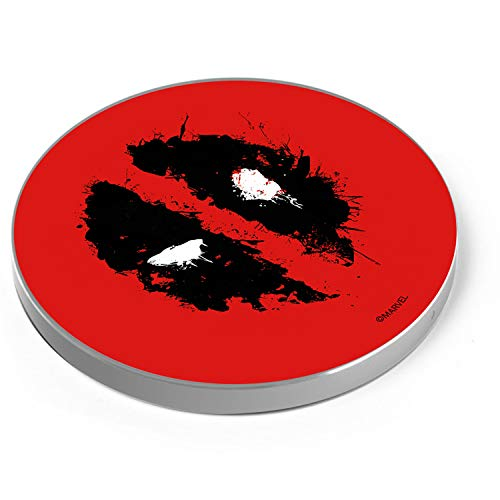 ERT GROUP Marvel Deadpool Wireless Charger, Wireless Charging Station for...