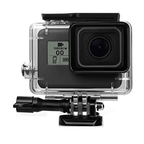 Linghuang 40m zwart onderwater waterdicht hoesje voor Gopro Hero 7 Zwart, 2018 Hero 6 Hero 5 Action Camera Go Pro 5 beschermhoes accessoire